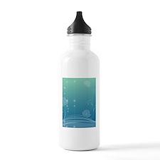 Lotus iPad Sleeve Water Bottle