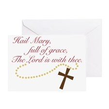 Rosary Greeting Card
