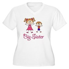 Big Sister with L T-Shirt