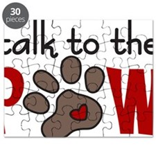Talk To The Paw Puzzle