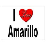 I Love Amarillo Small Poster