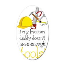 Enough Tools Wall Decal