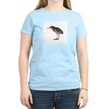 Green Heron Wearing Heels T-Shirt