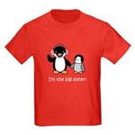 Big Sister - Penguin Kids Dark T-Shirt