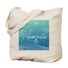 Namaste Round Car Magnet Tote Bag