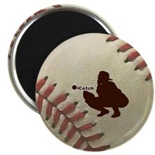 iCatch Baseball Magnet