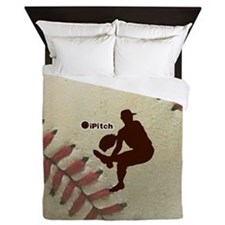 iPitch Baseball Queen Duvet
