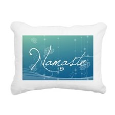Namaste Rectangle Car Ma Rectangular Canvas Pillow