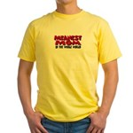 Meanest Mom Yellow T-Shirt