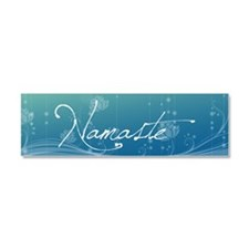 Namaste 20x6 Wall Decal Car Magnet 10 x 3