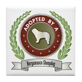 Bergamasco Adopted Tile Coaster