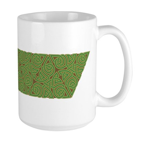 Arboreal Triangle Knot Large Mug