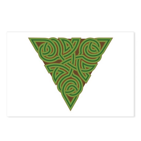 Arboreal Triangle Knot Postcards (Package of 8)