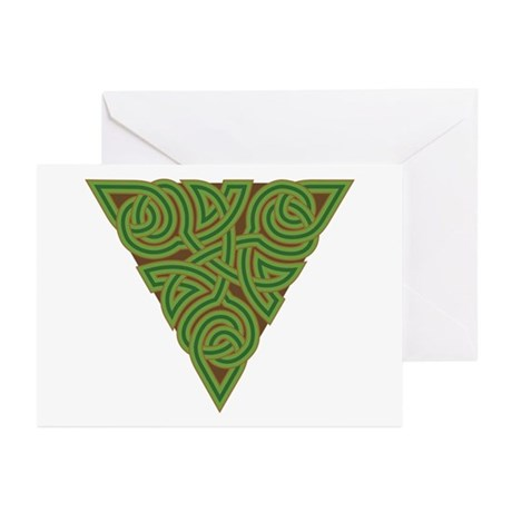 Arboreal Triangle Knot Greeting Cards (Pk of 10)