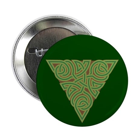 "Arboreal Triangle Knot 2.25"" Button (10 pack)"