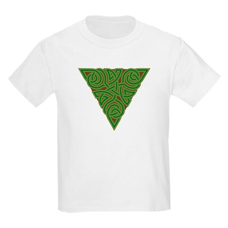 Arboreal Triangle Knot Kids Light T-Shirt