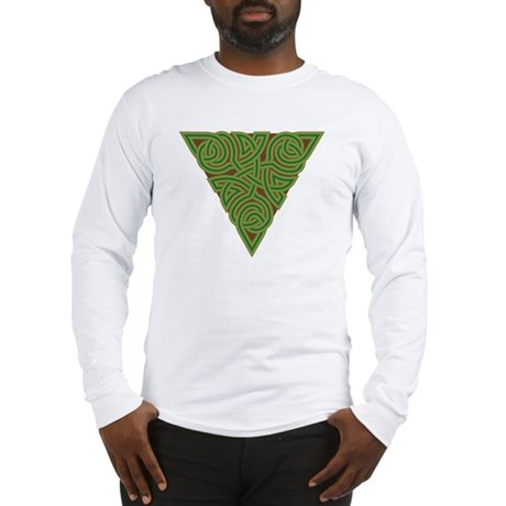 Arboreal Triangle Knot Long Sleeve T-Shirt
