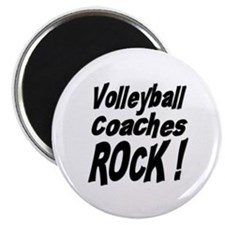 "Volleyball Coaches Rock ! 2.25"" Magnet (100 pack)"