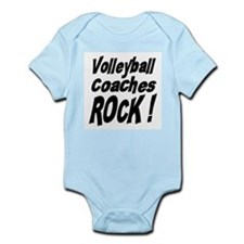 Volleyball Coaches Rock ! Infant Bodysuit