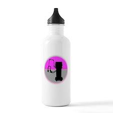 respiratory shirts pin Water Bottle