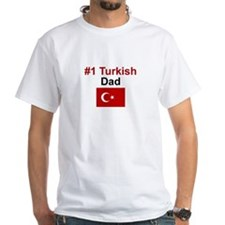 #1 Turkish Dad Shirt