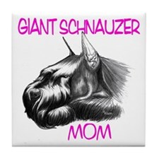 Unique Giant schnauzer Tile Coaster