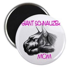"Cute Giant schnauzer 2.25"" Magnet (10 pack)"