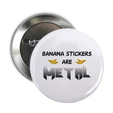 Banana Stickers Button