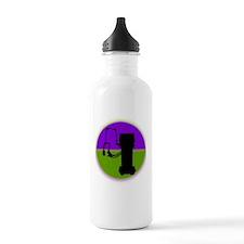 respiratory shirts pur Water Bottle