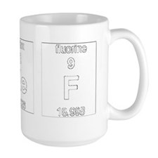 Chef Element Symbols 2 Ceramic Mugs