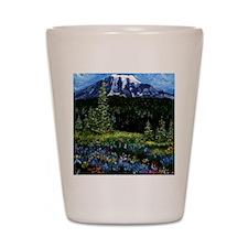 Mt Rainier Shot Glass