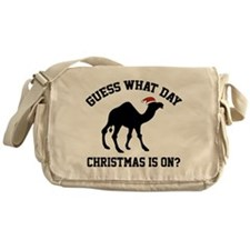 Guess What Day Christmas Is On? Messenger Bag