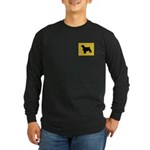 Welshie iPet Long Sleeve Dark T-Shirt