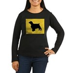Welshie iPet Women's Long Sleeve Dark T-Shirt
