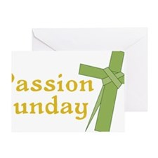 Passion Sunday Greeting Card