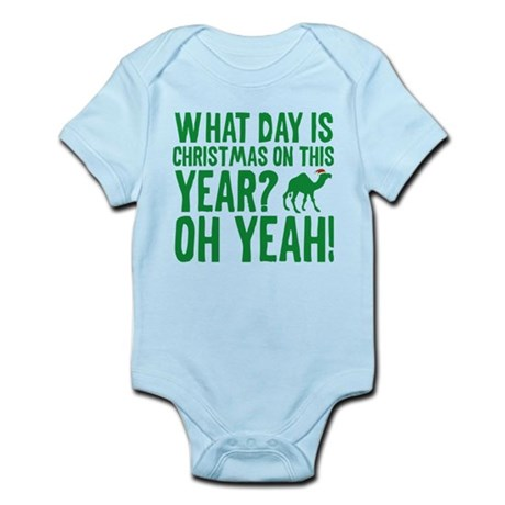 Guess What Day Is Christmas On This Year? Infant B