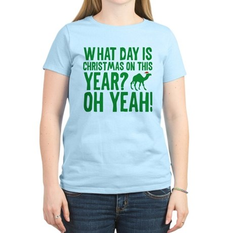 Guess What Day Is Christmas On This Year? Women's