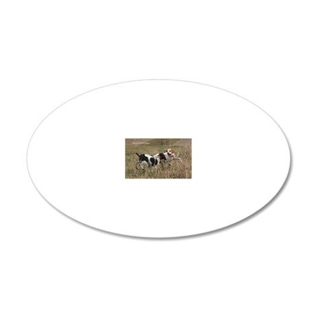 maxwell and hudson copy (2) 20x12 Oval Wall Decal