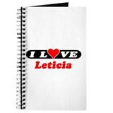 I Love Leticia Journal