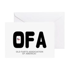 OLD FARTS ASSOCIATION OF AMERICA Greeting Card