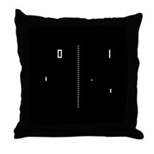 Pong Throw Pillow