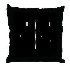 Pong Throw Pillow