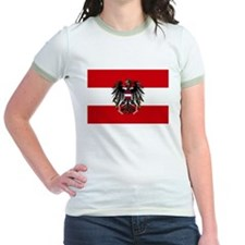 Austria w/ coat of arms  Ringer T-shirt