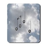 Notes Sky 2 Mousepad