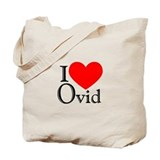 I Love Ovid Tote Bag