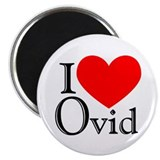 "I Love Ovid 2.25"" Magnet (10 pack)"