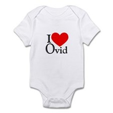 I Love Ovid Infant Bodysuit