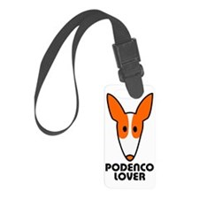 Podenco Lover Luggage Tag
