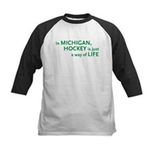 Michigan Hockey State Tee