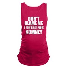 Dont Blame Me Maternity Tank Top